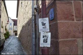 街灯にヘッセンの伝説