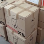荷物を送る箱