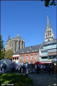 大聖堂と市庁舎