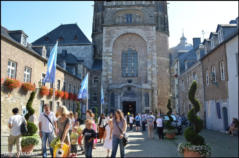 アーヘン大聖堂 Rathaus(市庁舎) 【Aachen】アーヘン
