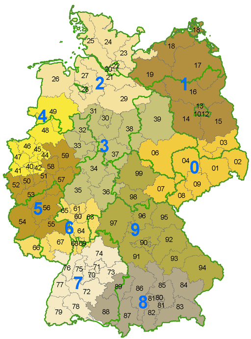 German_postcode_information