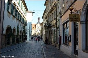 Bamburgの街並み