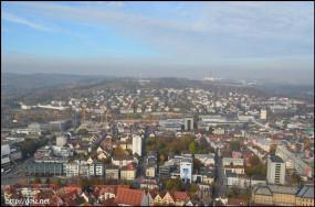 Ulmer Münster(大聖堂)からの景色