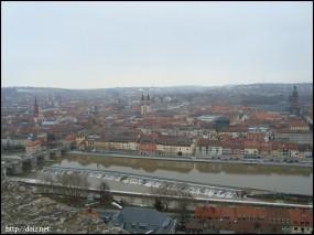 マリエンベルク要塞からの景色