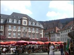 Heidelbergの街並み