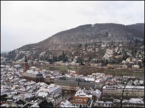 ハイデルベルク城からの景色