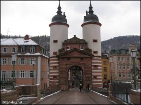 Karl-Teheodor Brücke(カール・テオドール橋)