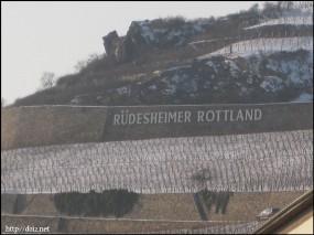 リューデスハイムの景色(冬)