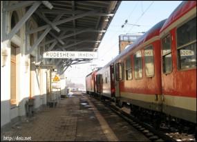 リューデスハイムの駅