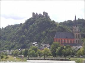ライン川沿いのお城