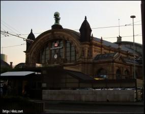 Frankfurt Main Hauptbahnhof(フランクフルト中央駅)