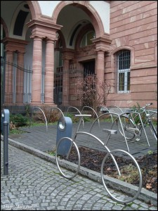 Naturmuseum駐輪場