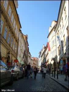 プラハの町並み