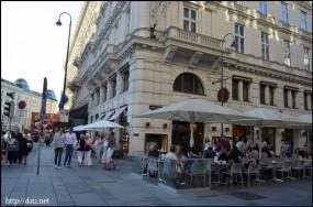 ホテルザッハーのカフェ