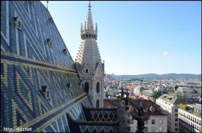 シュテファン寺院からの眺め