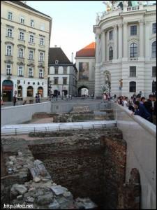 Hofburg(王宮)前