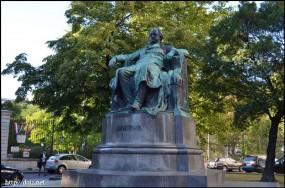 BurggartenのGoethe(ゲーテ)像