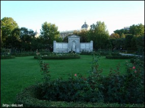 Volksgarten(フォルクス庭園)