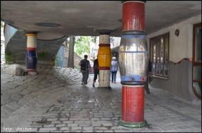Hundertwasserhaus(フンダートヴァッサーハウス)
