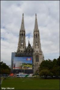 Votivkirche(ヴォティーフ教会)