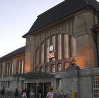 【Darmstadt Hauptbahnhof】ダルムシュタット中央駅