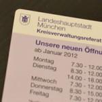 【ミュンヘン】Kreisverwaltungsreferat (KVR)