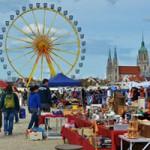 【ミュンヘン】Frühlingsfest(春祭りとフリーマーケット)