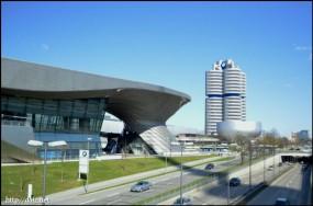 BMW Weltと本社ビル
