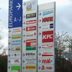 【ミュンヘン】Euro-Industriepark(大型店舗が集まるエリア)