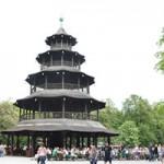 【ミュンヘン】Chinesischer Turm(中国塔)のビアガーデン