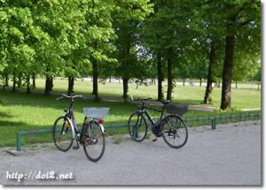 ドイツの駐輪場