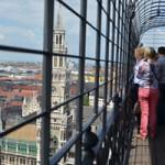 【ミュンヘン】St.Peterskirche聖ペーター教会の塔に上る