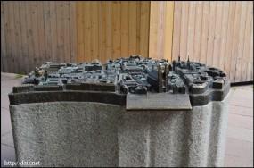 フラウエン教会の模型