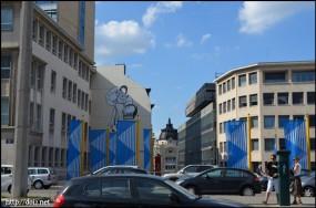 絵が描いてある建物