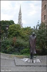 Spanjepleinの像
