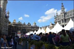 Grand-Place(グラン=プラス)ビール祭り