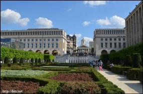 Jardin du Mont des Arts(モン・デ・ザール庭園)