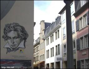 ベートーベンの似顔絵
