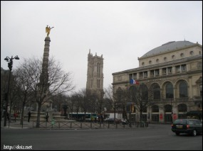 シャトレ広場