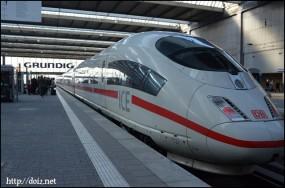 ミュンヘン中央駅ICE