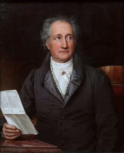 ゲーテの肖像画(Joseph Karl Stieler)