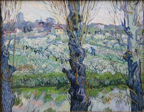 Blick auf Arles(Vincent van Gogh)