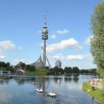 【ミュンヘン】Olympiaturm(オリンピア塔)に上る