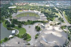 OlympiastadionとOlympiahalle