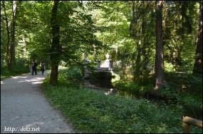 ニンフェンブルク城の公園