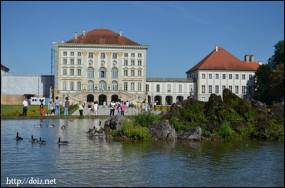 ニンフェンブルク宮殿(西側)