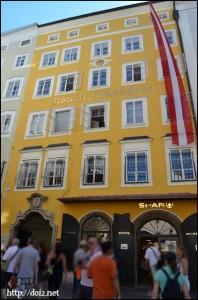 Mozarts Geburtshaus(モーツァルトの生家)
