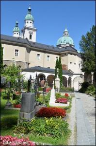St.Peters Friedhof(ザンクト・ペーター墓地)
