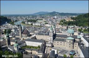 ホーエンザルツブルク城からの景色