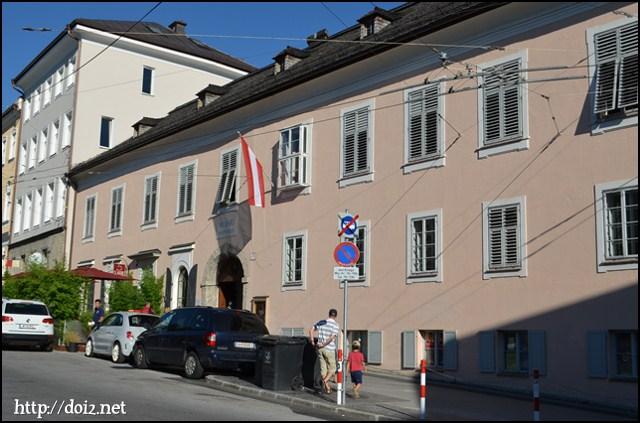 Mozart Wohnhaus(モーツァルトの住居)